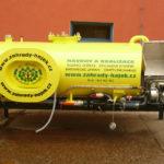 Výměnná nástavba pro zalévání zeleně a zásobování užitkovou vodou
