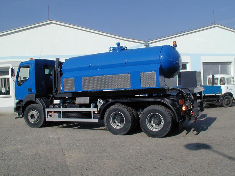 Výměnná nástavba pro zásobování pitnou vodou KCAPv 8