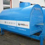 Výměnná nástavba 2,4 - 4 m³ pro nouzové zásobování pitnou vodou