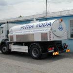Pevná nástavba pro nouzové zásobování pitnou vodou