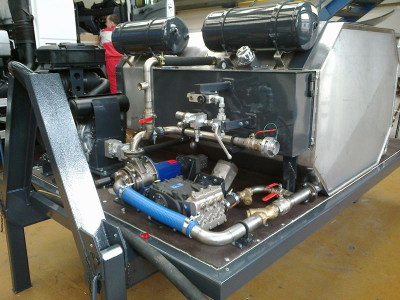 Speciální vysokotlaká nástavba CAK 2 FABOK – celokapotované provedení